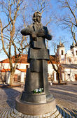 Monument to Laurynas Gucevicius. Vilnius, Lithuania  — Stock Photo
