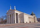 St. Stanislov Cathedral (1801). Vilnius, Lithuania — Stock Photo