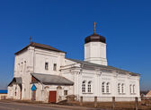 Dormition of the Theotokos church (1859). Gzhel, Russia — Stock Photo
