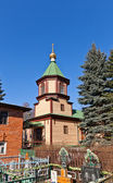 St. Nicholas church (1912). Malyshevo, Russia — Stock Photo
