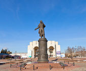 Monument to Alexander Pushkin in Kursk, Russia — Stock Photo