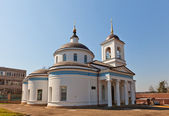 Theotokos of Vladimir church (1833). Kraskovo, Russia — Stock Photo