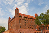 Mewe castle (XIV c.) of Teutonic Order. Gniew, Poland  — Stock Photo