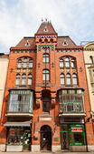 Neogothic house (1899) in Torun, Poland — Stock Photo
