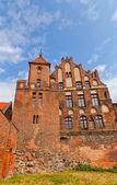 Mieszczanie hall (1489) w toruniu, polska — Zdjęcie stockowe