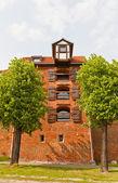 Zuraw crane tower (XIII c.) of Torun town, Poland — Stock Photo