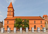 Evangelical church of Holy Trinity (1824). Torun, Poland — Foto Stock