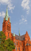 Saint Catherine church (1897) in Torun, Poland — Stock Photo
