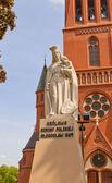 Statue of Saint Mary (1927) in Torun, Poland — Stock Photo