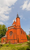 Saint Stephen church (1904) in Torun, Poland — Stock Photo