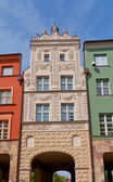 Caesar Arch house (XVIII c.) in Torun town, Poland — Stock Photo