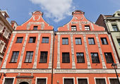 Roesner House (1712) in Torun town, Poland  — ストック写真