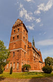 St. Stanislaus church (1521) in Swiecie town, Poland. — Stock Photo