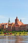 Ansicht der Stadt Grudziadz, Polen — Stockfoto