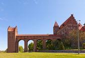 Marienwerder castle (1350) of Teutonic Order. Kwidzyn, Poland — Stock Photo
