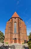 Saint John Cathedral (1384) in Kwidzyn town, Poland — ストック写真
