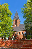 Saint Anna Church (1901) in Sztum town, Poland — Stok fotoğraf