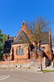 Saint Anna Church (1901) in Sztum town, Poland — Foto de Stock