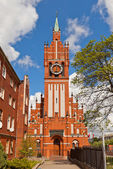 Philharmonic Organ Hall (1907) in Kaliningrad, Russia — Stock Photo