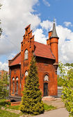 House of the Bridge Keeper (1882) in Kaliningrad, Russia — Stockfoto