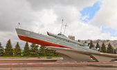 Komsomolets motor torpedo boat a kaliningrad, russia — Foto Stock