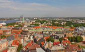 View of Old Town (UNESCO site). Riga, Latvia — Stock Photo