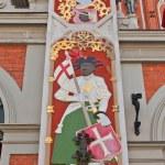 Saint Maurice. House of Blackheads, Riga, Latvia — Stock Photo #47315079