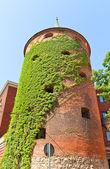 Powder Tower (XVI c.) in Riga, Latvia. UNESCO site — Stock Photo