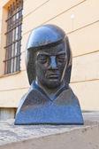 Ritratto di scultura del maestro Gianluca pauls — Foto Stock