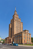 Latvian Academy of Sciences (1958) in Riga, Latvia — Stock Photo
