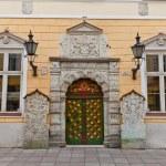 Brotherhood of the Blackheads house in Tallinn, Estonia — Stock Photo #48455415