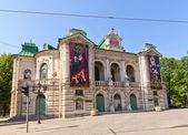 Latvian National Theatre (1902) in Riga, Latvia — Stock Photo