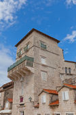 Vitturi Tower (XV c.). Trogir, Croatia. UNESCO site — Stock Photo