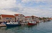 Waterfront of Ciovo island, Trogir, Croatia — Foto de Stock