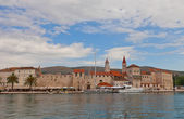 Waterfront of Trogir, Croatia — Foto de Stock