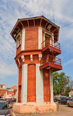 Old water tower in Dmitrov, Russia — Stock Photo