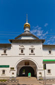 Gate church of St Nicolas (1687) in Dmitrov, Russia — Stock Photo