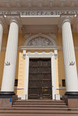 Russian Museum of Ethnography (1912) entrance in Saint Petersbur — Stock Photo