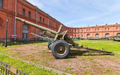 Soviet 152 mm howitzer-gun M1937 (ML-20) — Stock fotografie