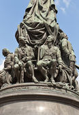 Statues of V. Chichagov and A. Orlov (1873) in Saint Petersburg  — Foto Stock