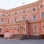 Постер, плакат: Inner yard of St Michael Castle 1801 in St Petersburg Russia