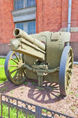 Soviet 122 mm field howitzer M1909-37 — Stock Photo