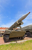 Soviet rocket launcher 2P16 of rocket system 2K6 Luna — Stock Photo