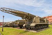 Soviet rocket launcher 2P19 of missile complex Elbrus (Scud-B) — Stock Photo