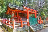 Small sanctuary in Kasuga Grand Shrine. Nara, Japan  — Photo