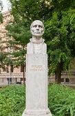 Roger Joseph Boscovich sculpture (1911) in Zagreb, Croatia — Stock Photo