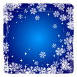 Decorative  vector Merry Christmas background with snowflakes. - Stockvektor