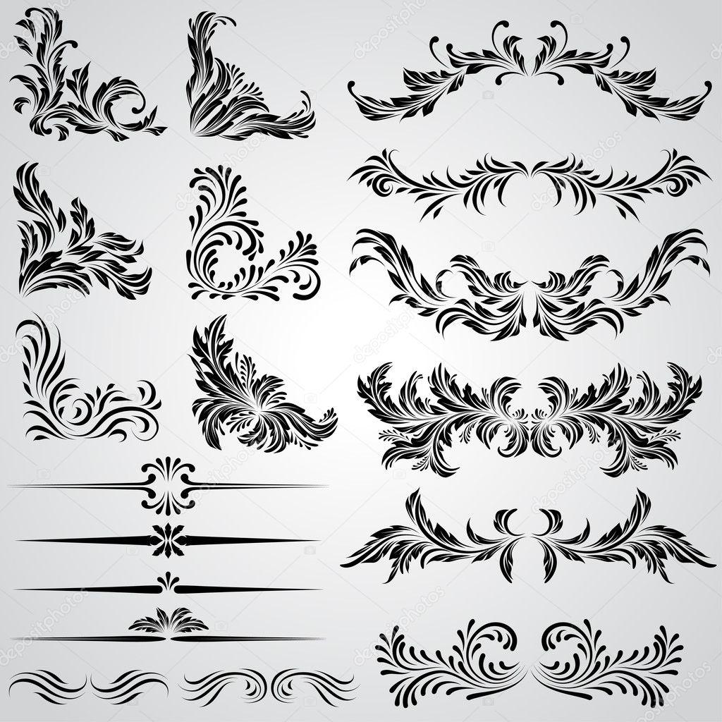 P gina decoraci n vintage marcos y elementos de dise o - Pagina de decoracion ...