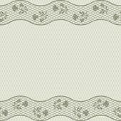 Vintage spets bakgrund, Dekorativa blommor. vektor konsistens. — Stockvektor