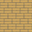 Seamless vector background of the brick wall — Stock Vector